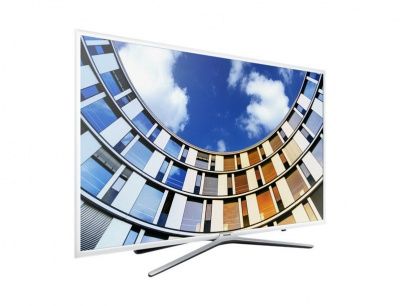 "Телевизор LED Samsung 55"" UE55M5510AUXRU белый/FULL HD/100Hz/DVB-T2/DVB-C/USB/WiFi/Smart TV (RUS)"